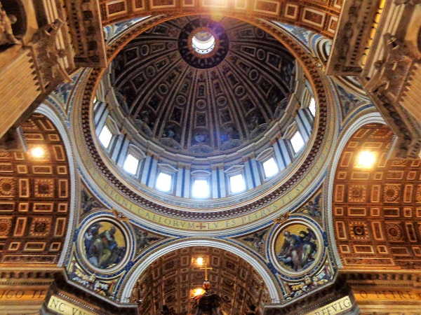 St. Peter's Basilica; Vatican City; Roma; Italia; outdoor; architecture; travel; uasatish; Rome; Italy; Dome;