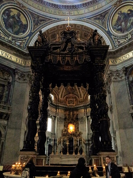 St. Peter's Basilica; Vatican City; Roma; Italia; outdoor; architecture; travel; uasatish; Rome; Italy; Altar;