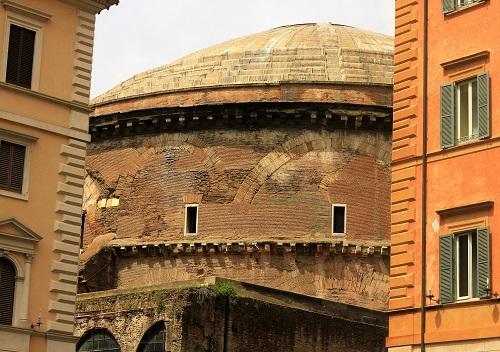 Basilica di Santa Maria Sopra Minerva; Rome; Italy; church; architecture; travel; uasatish; outdoor; dome;
