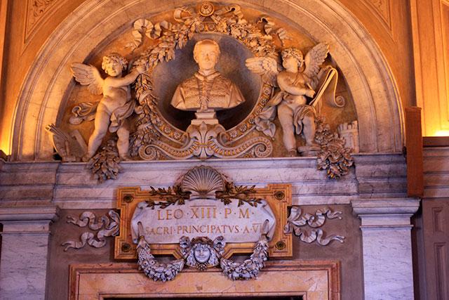 Vatican Museums; Vatican City; Rome; Italy; uasatish; museums; Leo XIIIi; Pope;
