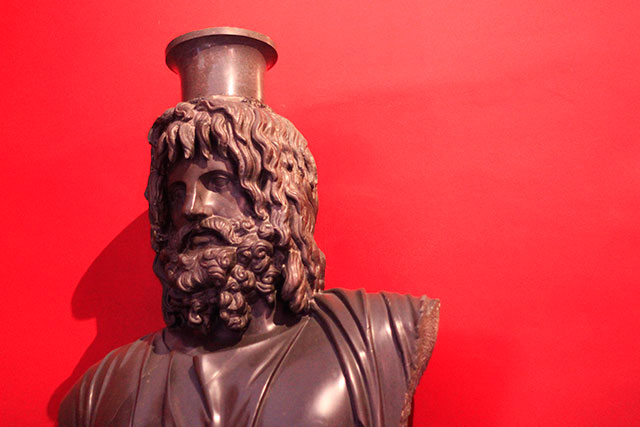 Vatican Museums; Vatican City; Rome; Italy; uasatish; museums; Serapis; bust; sculpture;