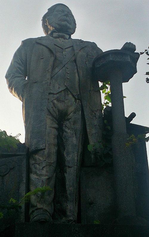 Dr. Hermann Gundert; Thalassery; Tellicherry; Kerala; India; sculpture; outdoor; uasatish;