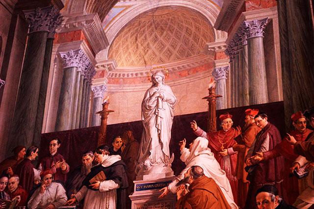 Vatican Museums; Vatican City; Rome; Italy; uasatish; museums; Stanze di Rafaello; fresco;