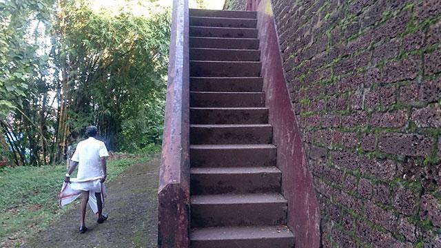 Thalassery Fort; Thalassery; Tellicherry; Kerala; India; outdoor; uasatish; steps;