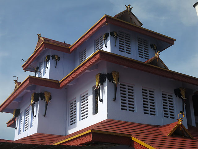 Muthappan Madappura; Kerala; India; temple; outdoor; architecture; uasatish;