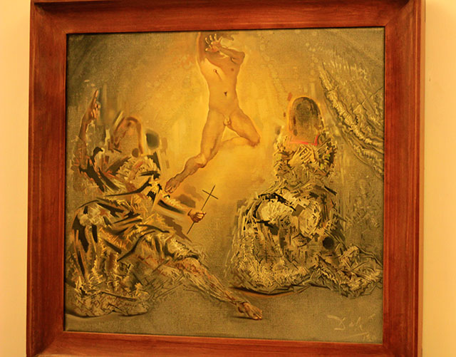 Vatican Museums; Vatican City; Rome; Italy; uasatish; museums; The Trnity; Salvador Dali; painting;