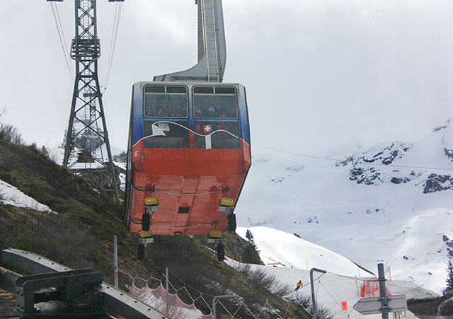 Mount Titlis; Switzerland; cable car; outdoor; snow; mountain; uasatish;