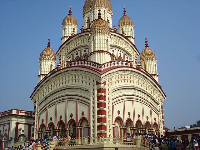 Dakshineswar Temple; Kolkata; Calcutta; India; temple; architecture; outdoor; uasatish;