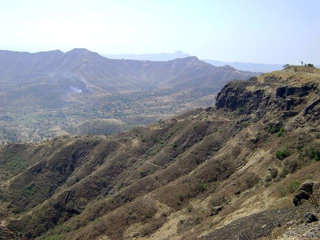 Sinhagad Fort; Thoptewadi; Maharashtra; India; fort; outdoor; uasatish;