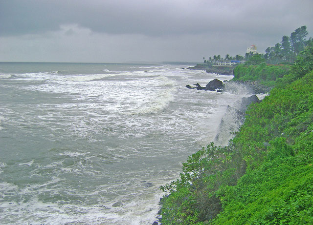 Payyambalam Beach; Kannur; Kerala; India; sea; sky; outdoor; uasatish;