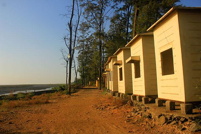 beach shacks; Suruchi beach; beach; Vasai; India; outdoor; Mumbai; uasatish;