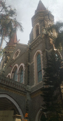 Cathedral of the Holy Name; Colaba; Mumbai; ndia; church; heritage building; uasatish; outdoor;