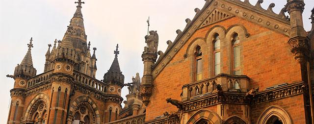 Gothic Architecture; Mumbai CST Area; outdoor; India; uasatish; Bombay;