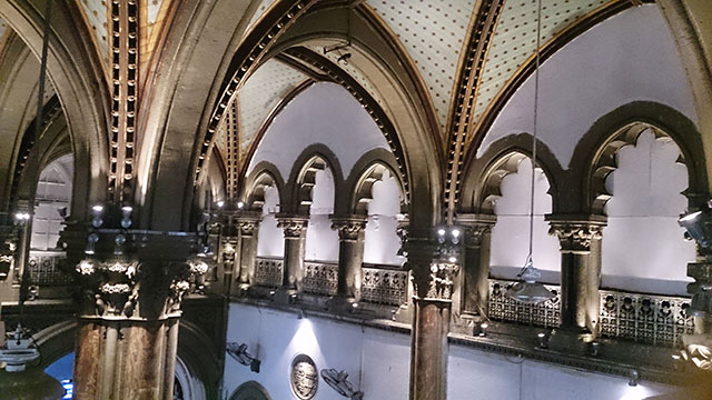 Mumbai CST; Mumbai; Bombay; India; UNESCO World Heritage site; architecture; uasatish; Star Chamber;