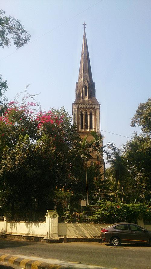 Afghan Church; Colaba; Mumbai; India; Bombay; church; heritage structure; Gothic architecture; outdoor; uasatish;