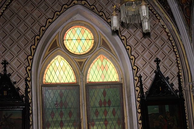 Cathedral of the Holy Name; Colaba; Mumbai; ndia; church; heritage building; uasatish;; window;