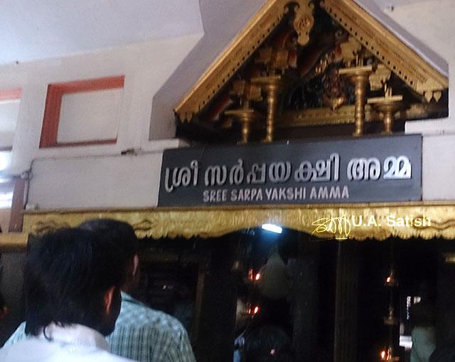 Mannarasala Temple; Haripad; Kerala; India; temple; building; uasatish;
