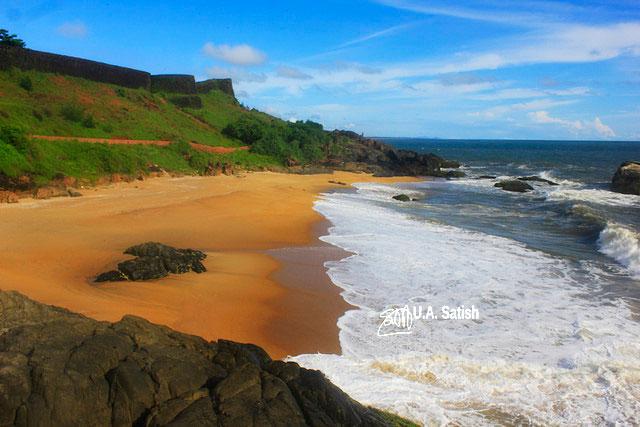 Bekal Beach; Kerala; India; beach; sea; sand; sky; uasatish;