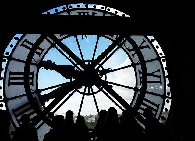 Musée d'Orsay; Paris; France; museum; indoor; uasatish; clock; Musée d'Orsay;