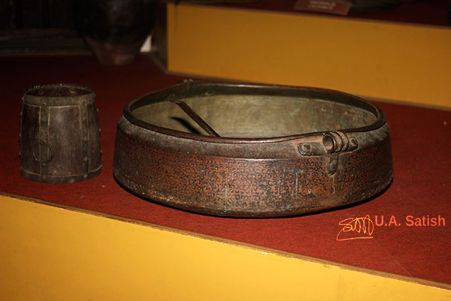 Arakkal Museum; Arakkal Palace; Kannur; Kerala; India; uasatish; cooking vessel: