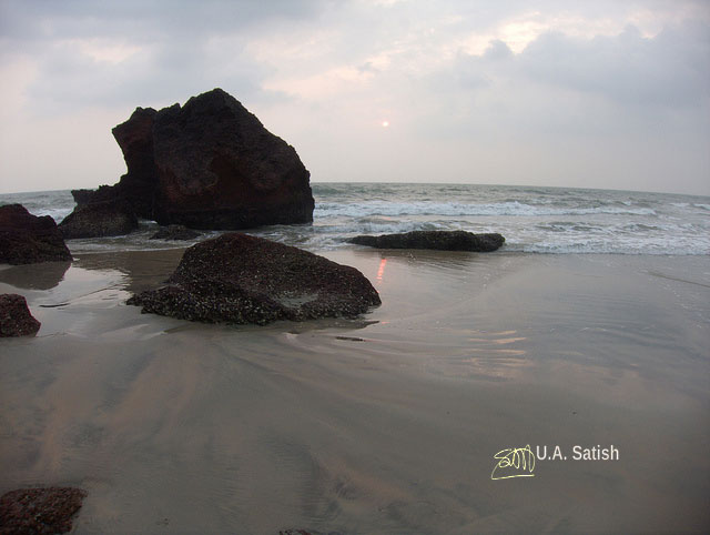 Payyambalam Beach; Kannur; Kerala; India; beach; sea; sand; sky; uasatish;