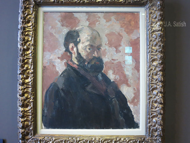 Musée d'Orsay; Paris; France; museum; indoor; uasatish; painting; Paul Cezanne;;Musée d'Orsay;