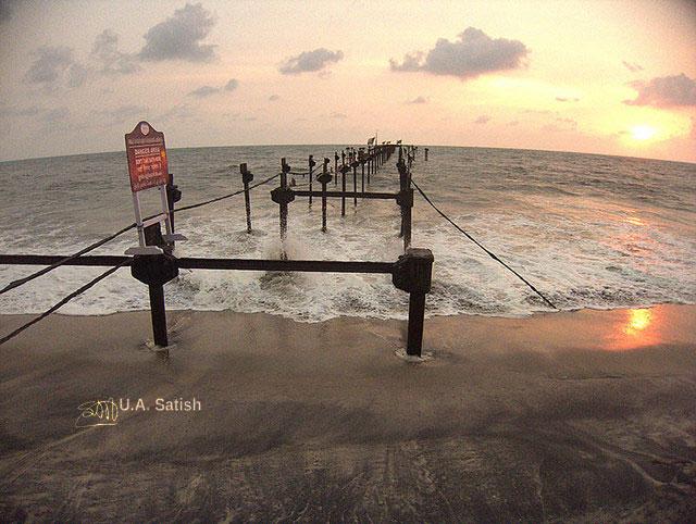 Alappuzha Beach; Kerala; Alappuzha; beach; sea; sand; sky; uasatish;