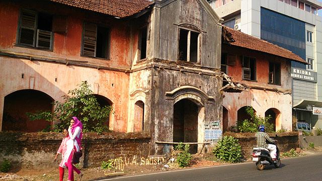 Arakkal Museum; Arakkal Palace; Kannur; Kerala; India; uasatish; ruins;