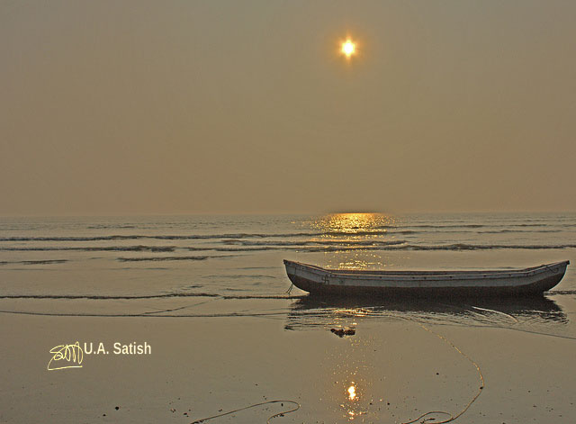 Kalamb Beach; Vasai; India; beach; sea; sand; sky; uasatish;