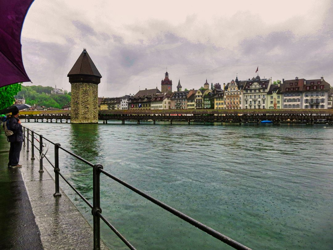Chapel Bride; Lucerne; Switzerland; Rver Reuss; bridge; uasatish;