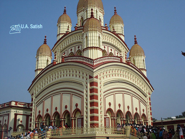temple; India; architecture; uasatish; Dakshineswar Temple; Kolkata;
