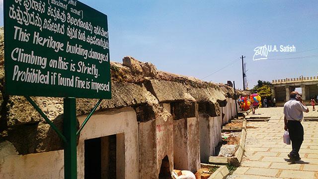Nandi Hills; Bangalore; Nandi Temple; #ancient Dravidian rock temple; #India; #architecture; uasatish; building;
