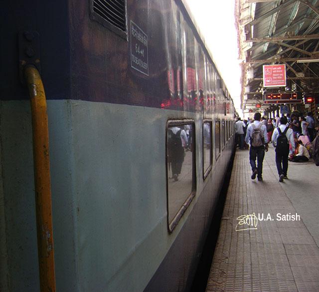 Kalyan Junction; Maharashtra; India; Central Railway; train travel; uasatish; railway station;
