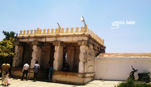Nandi Hills; Bangalore; Nandi Temple; #ancient Dravidian rock temple; #India; #architecture; uasatish;