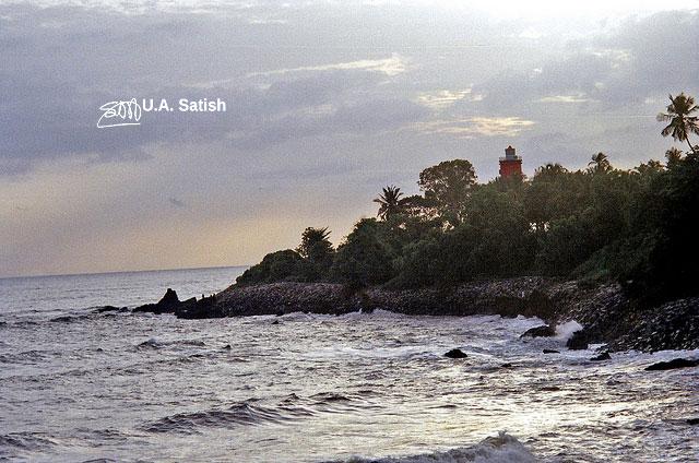 Kannur; Kerala; India; Baby Beach; uasatish;