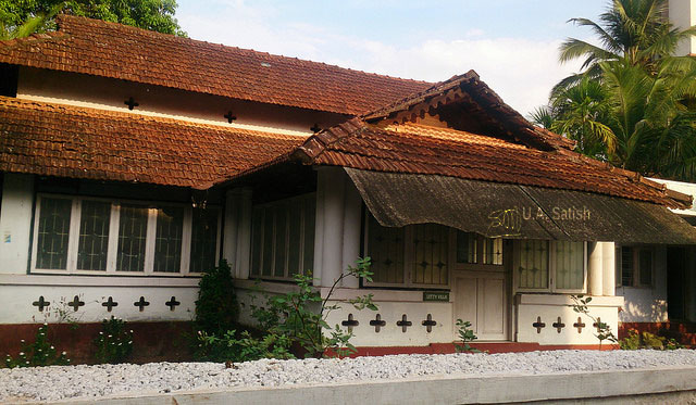 Kannur; Kerala; India; bungalow; uasatish;