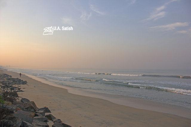 Kannur; Kerala; India; beach; Neerkkadavu; Azhikkal; uasatish;