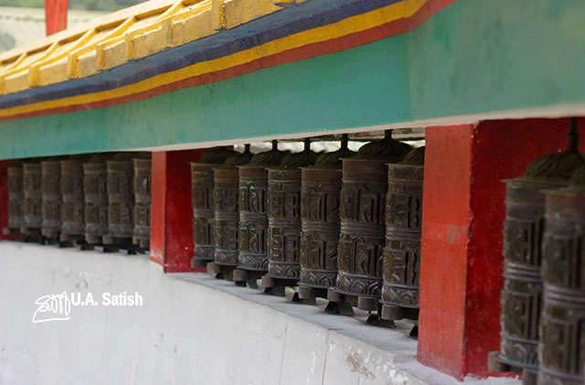 Rumtek Monastery; Sikkim; India; Gangtok; uasatish;
