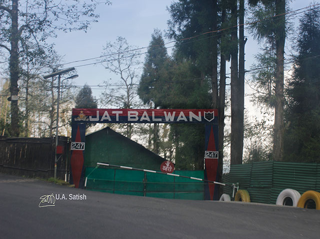 Jat Balwan; army camp; Gangtok; Sikkim; India; uasatish;