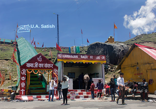 Old Baba Mandir; Sikkim; India; army; uasatish; Kupup;