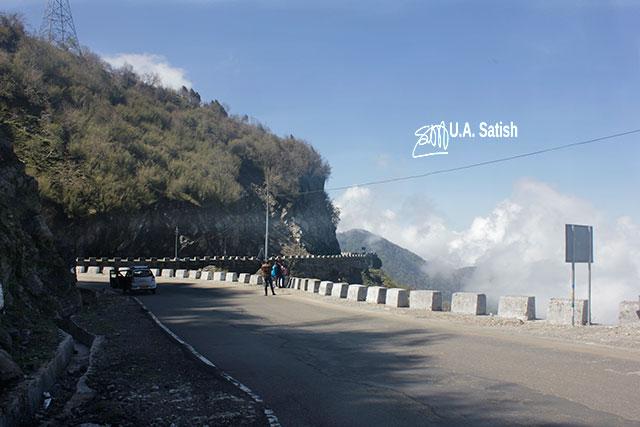 Road; Gangtok; Sikkim; India; uasatish; sky; clouds;
