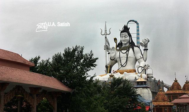Lord Shiva; sculpture; Char Dham; Namchi; Sikkim; India; uasatish;