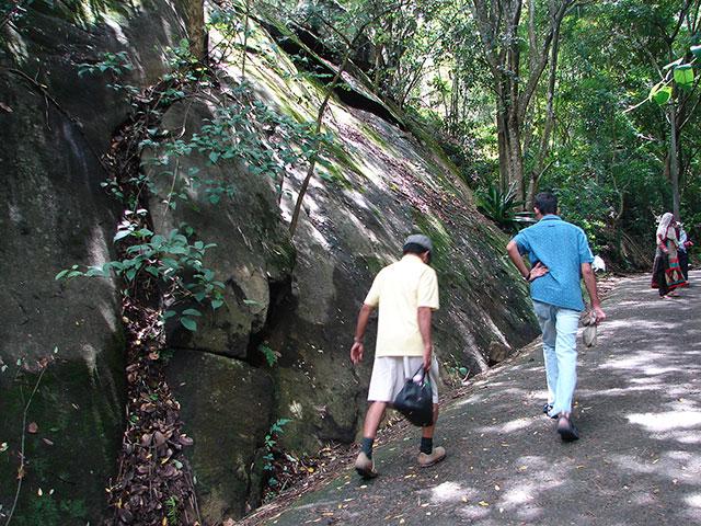 Edakkal Caves; Kerala; India; Wayanad;