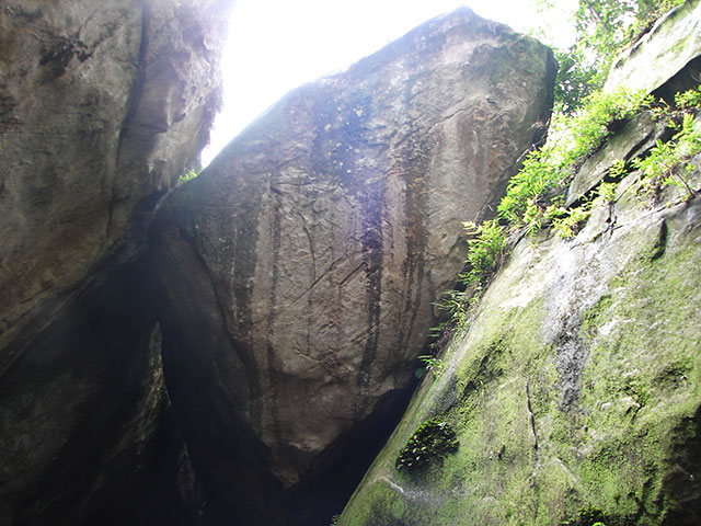 Edakkal Caves; Kerala; India; Wayanad;