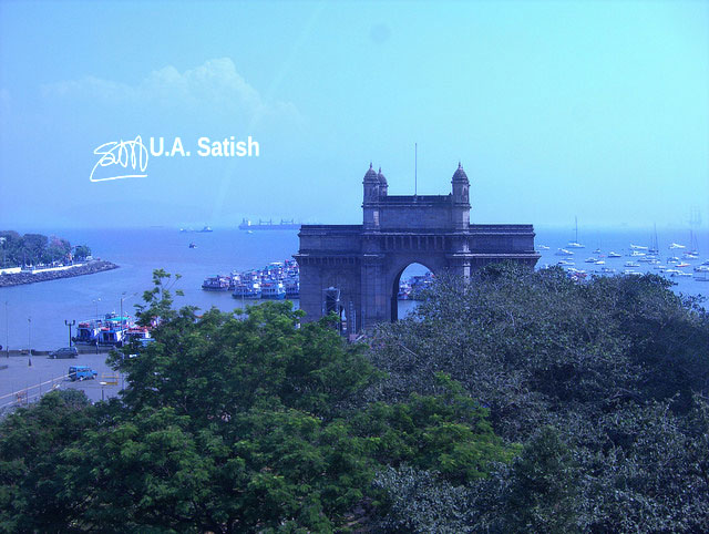 Gateway of India; Mumbai; India; architecture; uasatish;