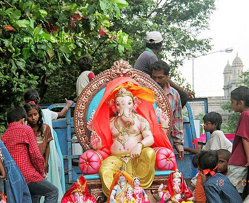 Ganpati Festival; Mumbai; India; uasatish; Ganpati;