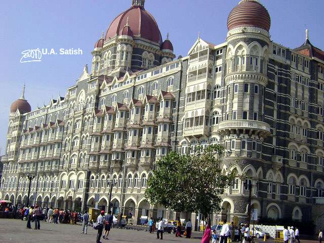 Taj Mahhal Palace; hotel; Mumbai; India; South Bombay; uasatish;