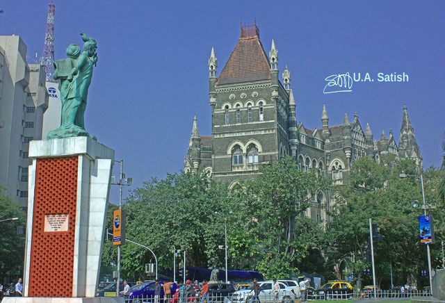 Hutatma Chowk; Flora Fountain; Mumbai; India; uasatish;