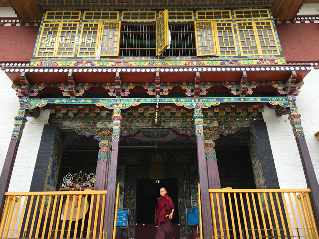 Pemayangtse Monastery; Pelling; Sikkim; India; architecture; building; uasatish;; Sangchen Pemayangtse;