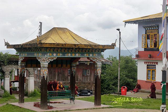Pemayangtse Monastery; Pelling; Sikkim; India; architecture; building; uasatish;;Sangchen Pemayangtse;